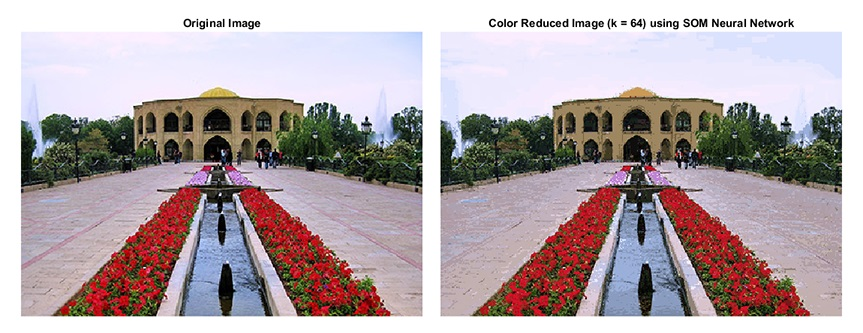 Result of Color Reduction of a Sample Image