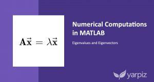 Numerical Computations in MATLAB