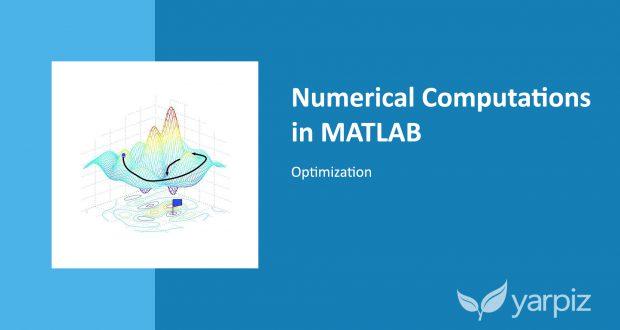 Numerical Computations in MATLAB: Optimization